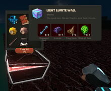 Creativerse Light Lumite Wall Iron Chest1881