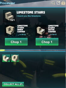 Creativerse R41,5 processing corners for stairs 527
