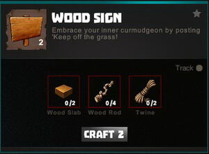 Creativerse crafting recipes R34 Furniture Windows Signs 0246