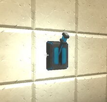 Creativerse R33 Switch off on wall01