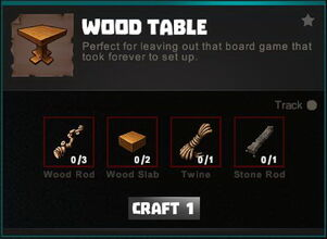 Creativerse crafting recipes R34 Furniture Windows Signs 0300