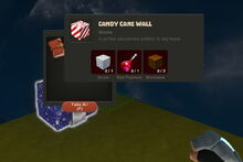 Creativerse Candy Cane Wall89