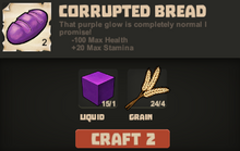 Corrupted bread make
