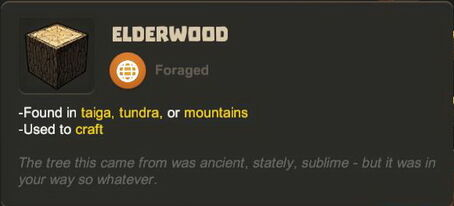 Creativerse R27 tooltips wood logs0709