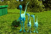 Ornithomimus Family