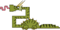 Trumpet Dragon MS Sprite