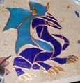Tanma Stained Glass Dragon