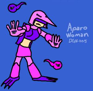 Aparo Woman (Redesign)