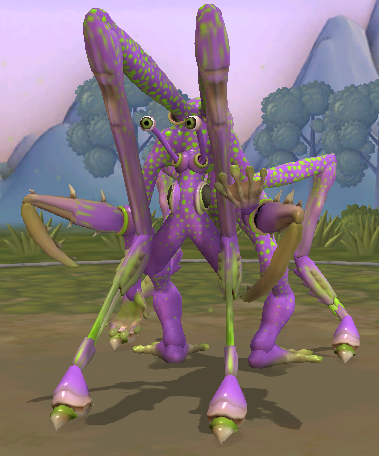 Infested Henzap Spore