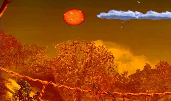 Vulkanausbruchalbia