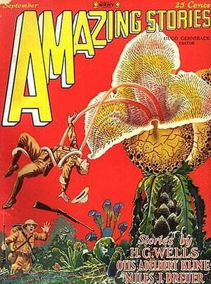 Amazing Stories September 1927 Hugo Gernsback Frank R Paul
