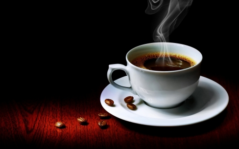 Large Hot Black Coffee Wallpaper 80595