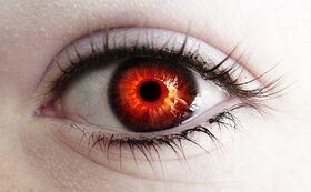 Fire in her eye