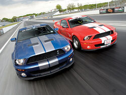 Mmfp 0809 01 z shelby mustang gt500 drag race