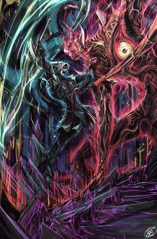 File:Mm fierce deity vs majora by kurkoboltsi-d2pxou9.jpg