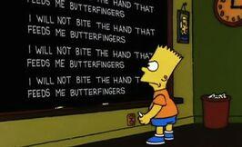 Bite-the-hand