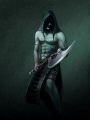 Holder of Oblivion Executioner