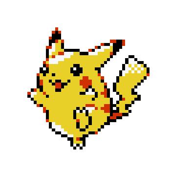 File:Pikachu Sprite.png