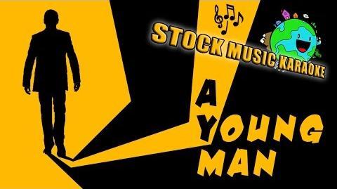 A Young Man Stock Music Karaoke