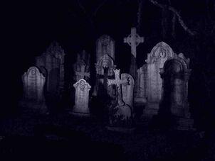Children-night-cross-grave
