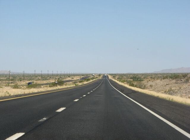 File:Desert road.jpg
