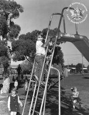 Slender playground