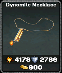 Dynomite necklace