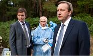 DS Ben Jones, Dr George Bullard and DCI John Barnaby
