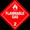 HAZMAT Class 2-1 Flammable Gas