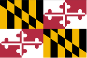 Flag maryland