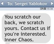 Inner Chaos-Msg to Sergei