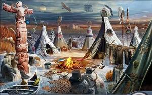 53 - 3. Indian Village, 1643
