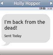 Holly-txtmsg