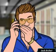 JArcherMurmuringonthephone