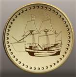 The Pilgrim ship's coins