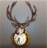 Archivo:Stylish Deer Clock.png