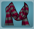 Dark Striped Scarf