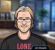 Lars Black Shirt Smiling