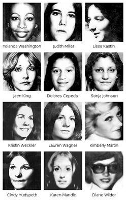 Hillside Strangler Victims