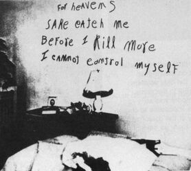 Lipstick Killer Message