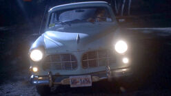 Reid's Volvo - front