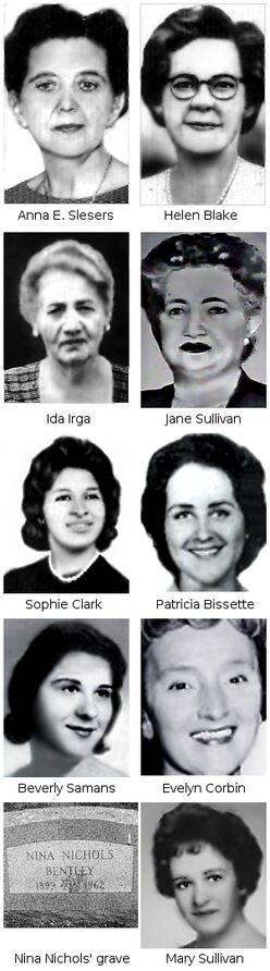 Boston Strangler's Victims