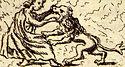 Arquivo:Fortitudo Papstgrab Bamberg aus Gottfried Henschen u Daniel Papebroch 1747.jpg
