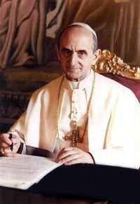 Imagem do papa Paulo VI