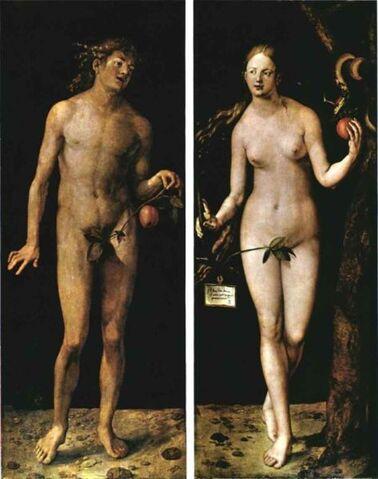 Arquivo:Durer Adam and Eve.jpg