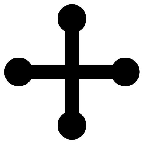 Arquivo:Cross-Pommee-Heraldry.png