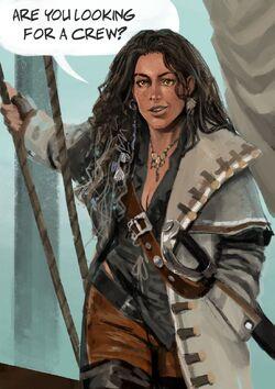 """""""Image of Captain Adella.""""}}"""