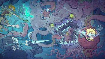 Episode-88-Vox-Machina-vs-Kraken-by-Hugo-Cardenas