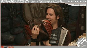 Matthew-Mercer-with-Thordak-Miniature