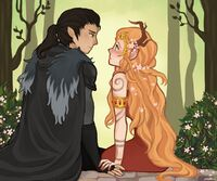 Vax and Keyleth by pixelllls